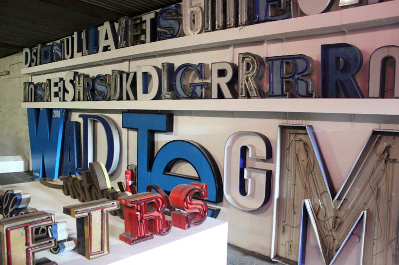 Buchstaben Typography Museum Berlin Germany